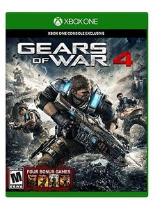 Gears of war 4 Xbox one mint condition