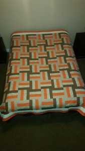 Home made double quilt