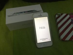 Iphone 5 64GB Silver BELL