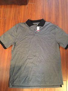 Mens Saks Fifth Avenue Polo Shirt Size XL