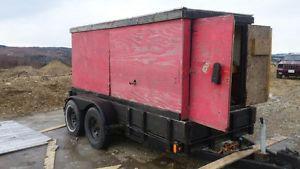 Mobile maintenance trailer unit