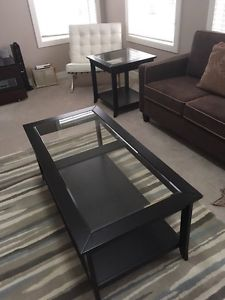 NewCastle Black Coffee & 2 End Tables. Open to offers.