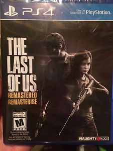 PS4 GAME unopened
