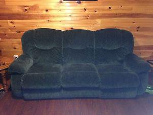 Recliner sofa and chairs for sale