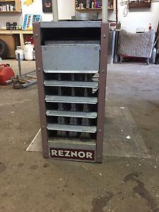 Reznor natural gas shop/garage heater