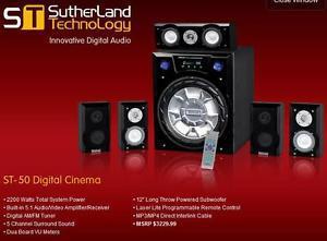Sutherland ST- CH Surround Receiver Amplifier