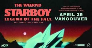 The Weeknd - 2 Tickets - April 25th