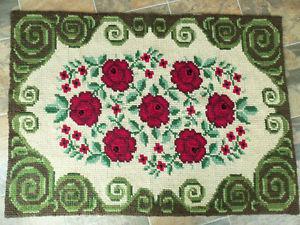 Vintage Flat Weave Tapestry Rug