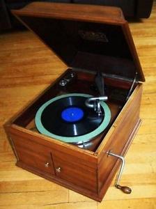 gramophone victor victrola camden VV-IX de  phonographe
