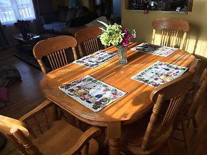 6 piece dining room table set