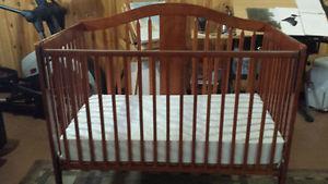 Baby Crib & Mattress $150 or Reasonable Offer