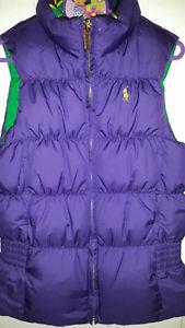 Beautiful Ralph Lauren Reversible Vest, Size 7