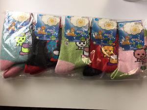 Children's socks AND Women's Scarf