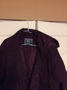 Denver Haye long feather down jacket size 2X