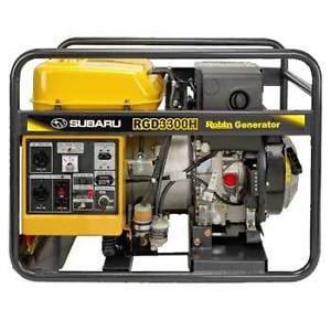 Diesel Generator - Generatrice Watts Subaru Hatz