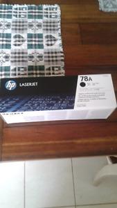 HP laser jet print cartridge CE278A black