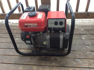 Honda  generator...