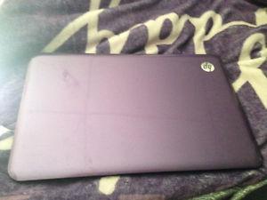 Hp purple laptop for sale $175