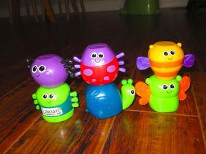 Lamaze magnetic stacking toys