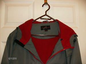 Men's AlpineTek Winter Jacket with Hood, Size XL