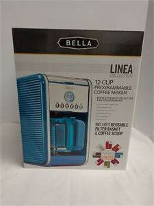 NEW Bella Linea Collection 12-Cup Programmable Coffee Maker