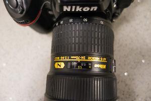 Nikon mm f/2.8 G IF ED and Nikon D800