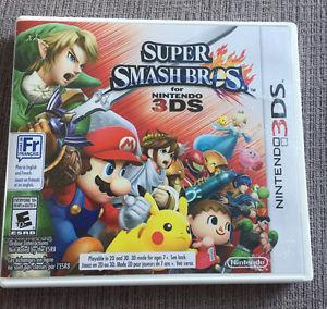 **SUPER SMASH BROS NINTENDO 3DS GAME FOR SALE**