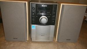 Sony mp3/cd/radio