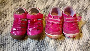 Toddler girl shoes, size 5