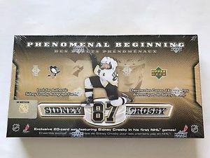 Upper Deck Sidney Crosby Phenomenal Beginning