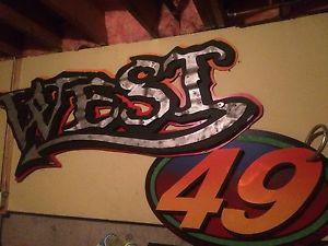 Wanted: West 49 sign