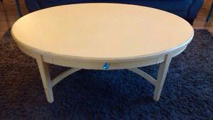 Wooden coffee table - refinished