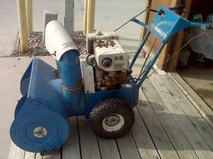 we pay cash for old junk snowblowers and lawnmowers