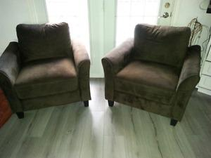 2 Accent Chairs only 3 months old
