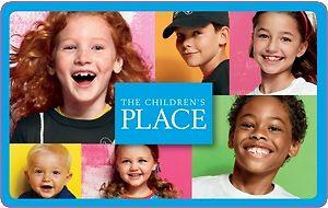 25$ childrens place gift card