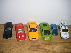 6 collectible Die cast cars for sale