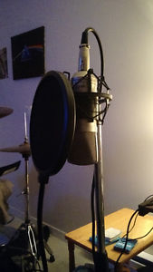 Apex435 Condenser Mic, Shock mount, Stand and Cable