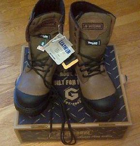 Brand new work boots, still in box.