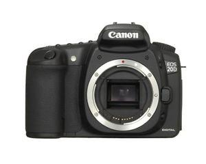 Canon 20D Camera Body and Canon EF-s mm f/2.8 IS USM