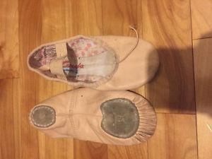 Capezio girls ballet shoes