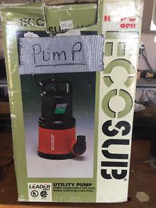 Eco Sub Utility pump