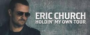 Eric Church Tickets Lower Bowl Aisle Seats 4 Side by Side