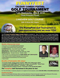 FunnyFest Golf Tournament & Show - Lakeview Golf Course