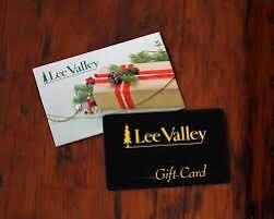 Lee Valley Gift Cards $500