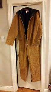 Mens Insulated Suit, Size Large
