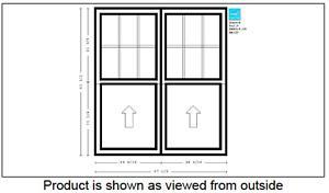 "New Large Window - 57"" x 63"" - Peter Kohler"