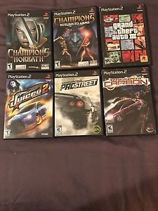 PS2 Games for Sale or Trade