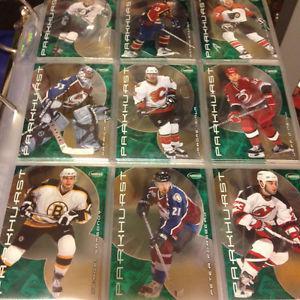Parkhurst - Near Complete set (Hockey Cards)
