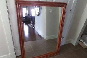 SOLID WOOD MIRROR.....36 x ......