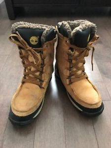 TIMBERLAND Boy's Youth Waterproof Boots, Size 5